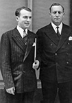 With Rafael Á. Calderón Guardia, President of Costa Rica - 1942